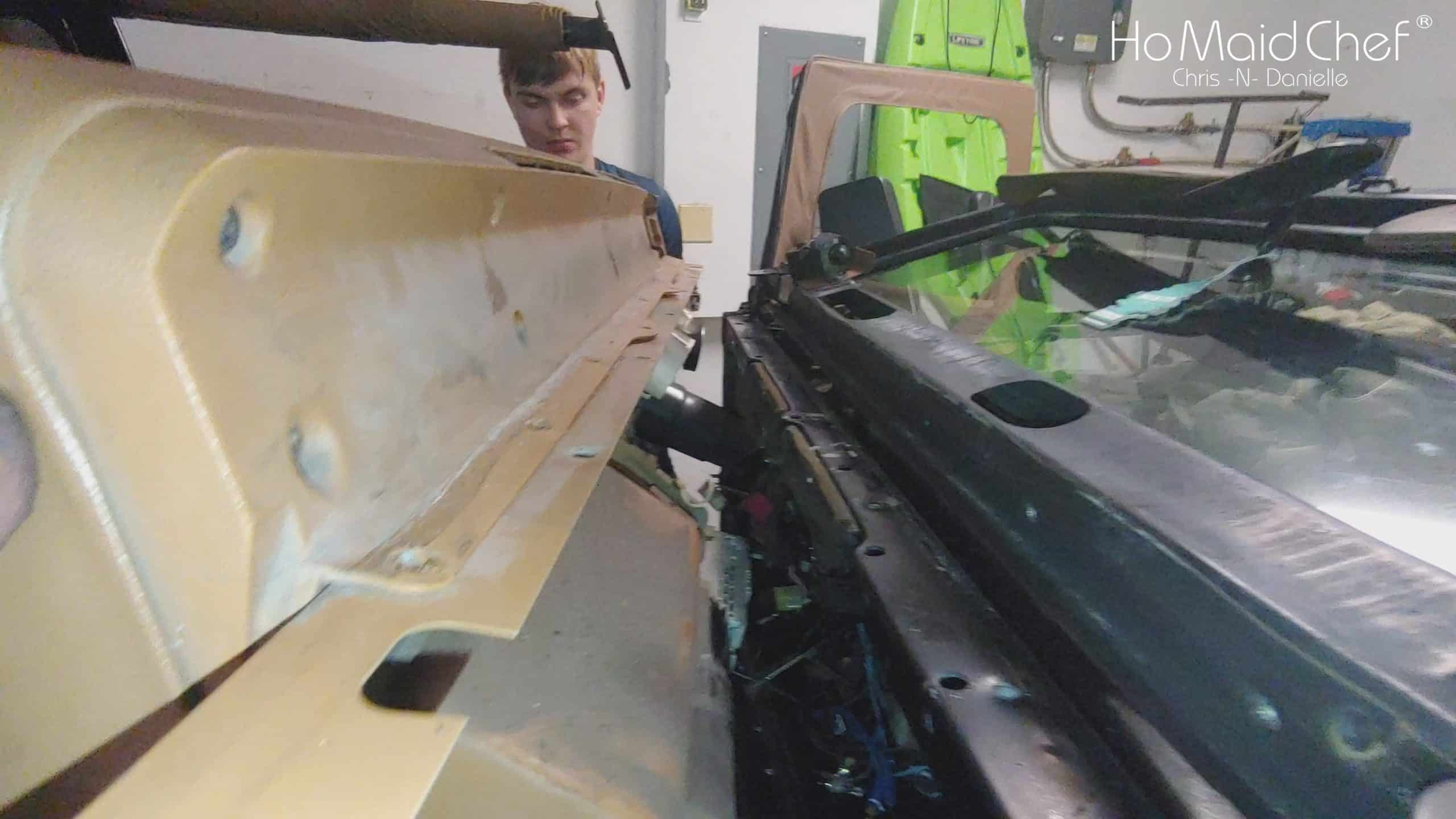 Removing Jeep YJ Dash - Chris Does What