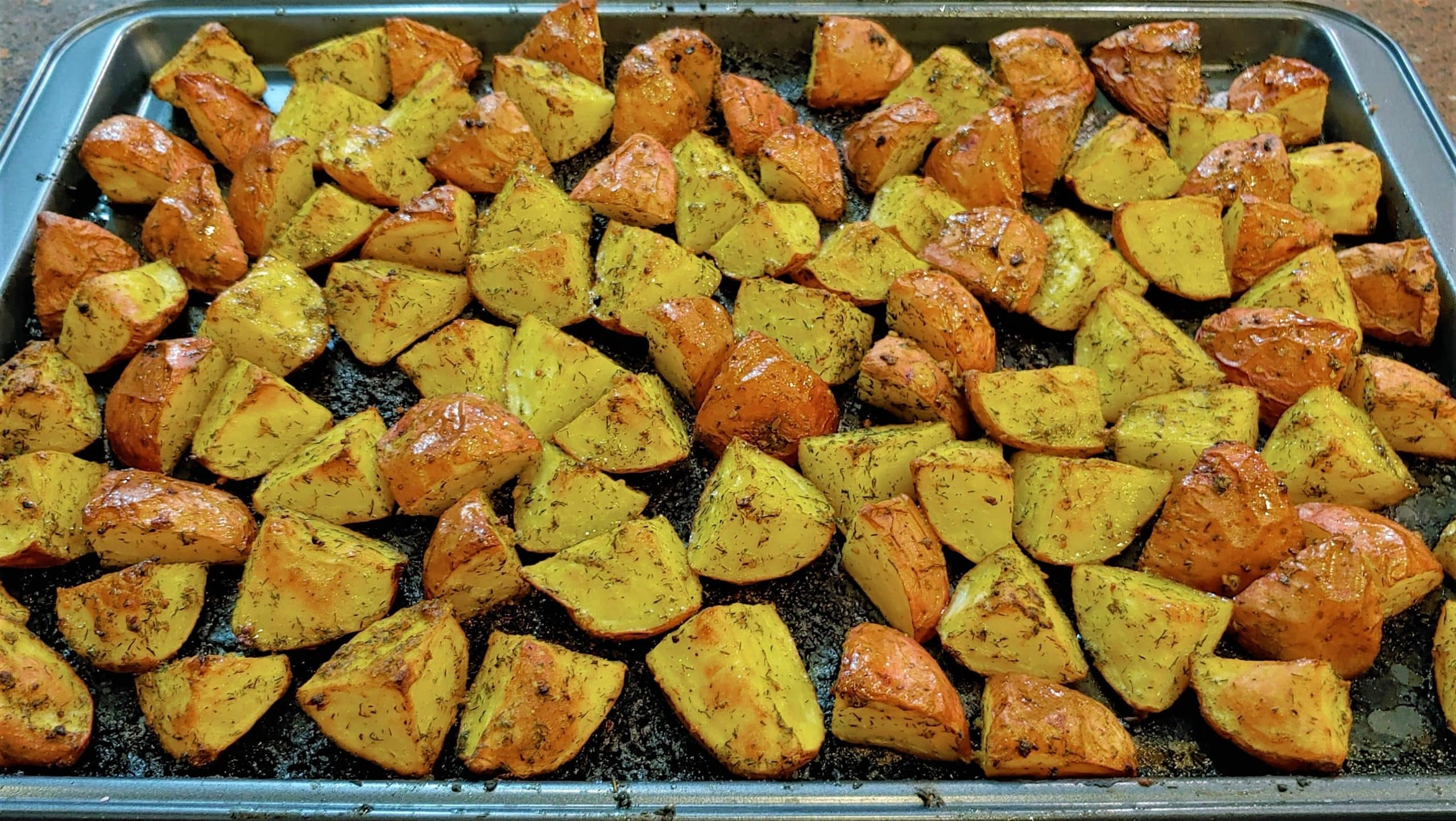 Roasted Red Potatoes - Dining in with Danielle
