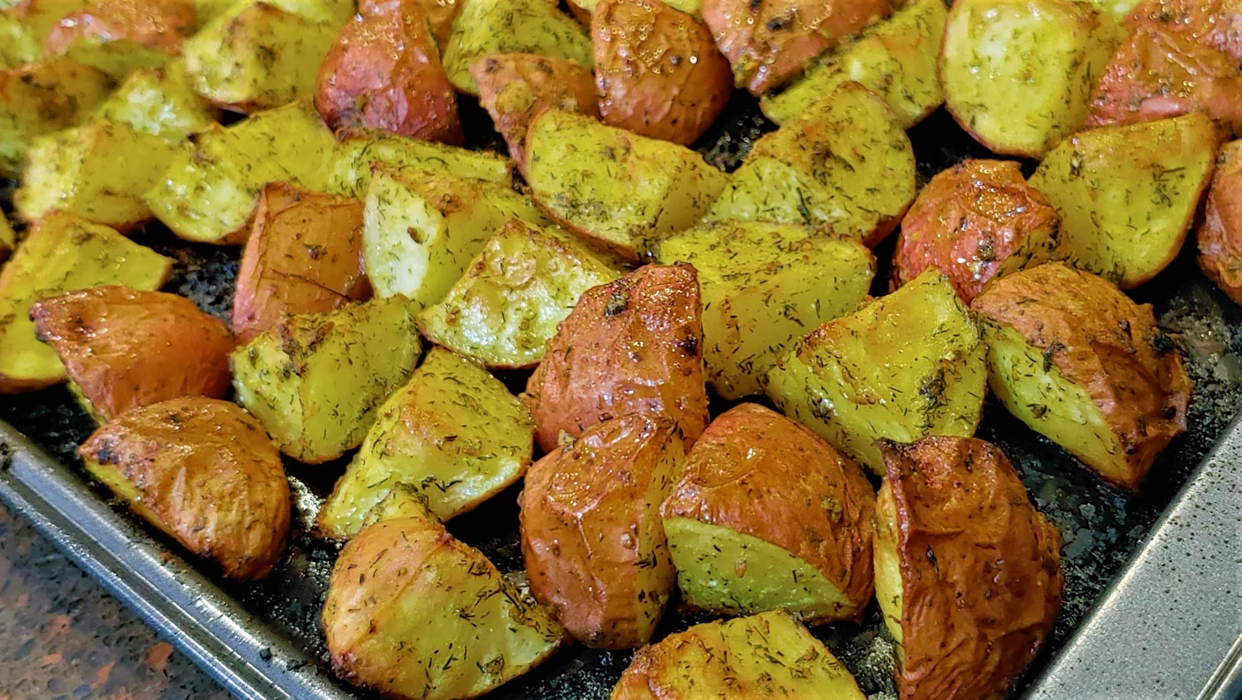 Roasted Potatoes - Dining in with Danielle