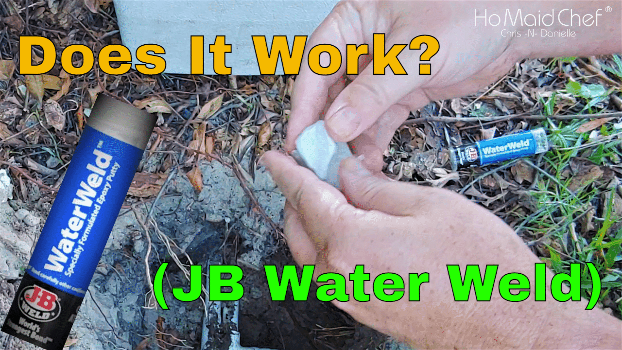 Does It Work, JB Water Weld To Fix Irrigation Pipe
